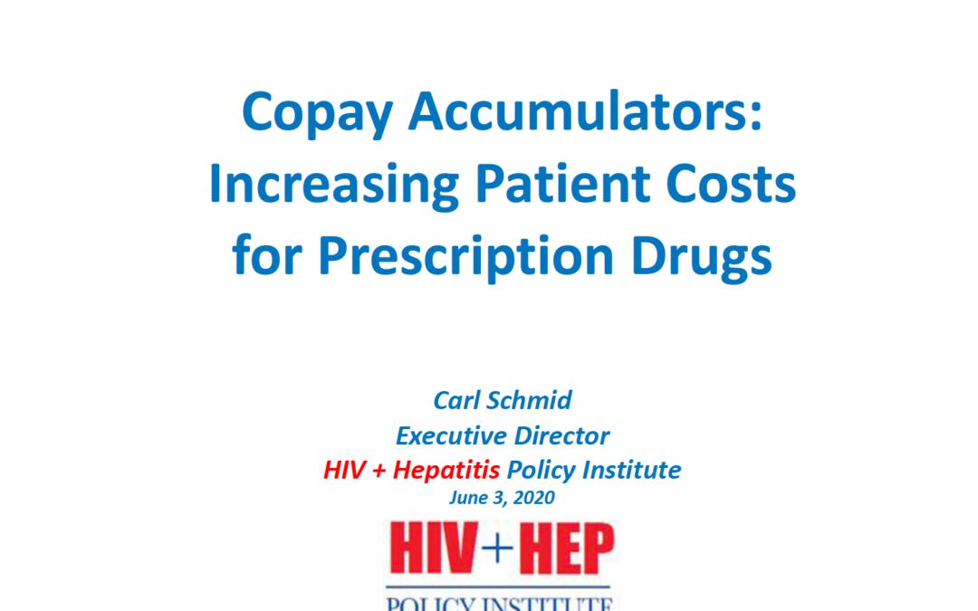 Copay accumulators: Increasing patient costs for prescription drugs